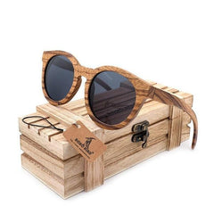 WoodWatchBox.com WOOD SUNGLASSES BOBO BIRD AG09 Polarized Retro Wooden Bamboo Sunglasses Unisex