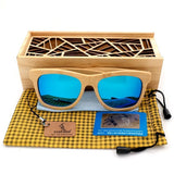 WoodWatchBox.com WOOD SUNGLASSES Default Title Bobo Bird G09 Mens Wooden Bamboo Sunglasses Polarized Uv400 Protection