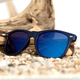 WoodWatchBox.com WOOD SUNGLASSES Green Bobo Bird CG5 Natural Handmade Retro Style Mens Bamboo Wood Sunglasses