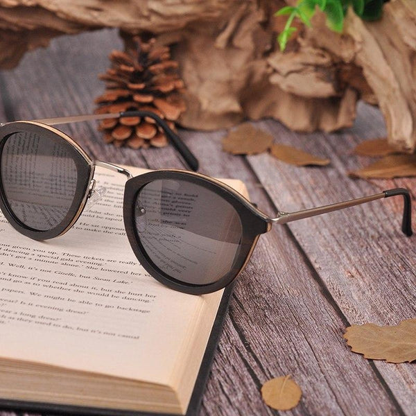 c766fce2c93c Previous. WoodWatchBox.com WOOD SUNGLASSES grey lens sunglasses Bobo Bird  G28 Unisex Polarized Retro ...