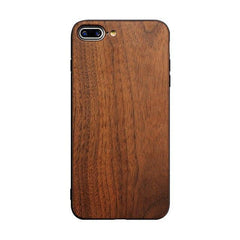 WoodWatchBox.com WOODEN iPHONE CASE as picture 1 / for iphone 6 6s Muyusu Ultra Slim Bamboo Wood TPU Back Cover for iPhone 6 iPhone 6s
