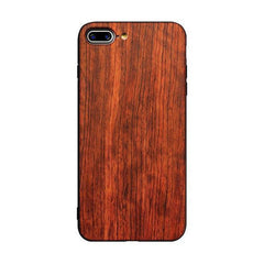 Muyusu Ultra Slim Bamboo Wood TPU Back Cover for iPhone 7 Plus Case
