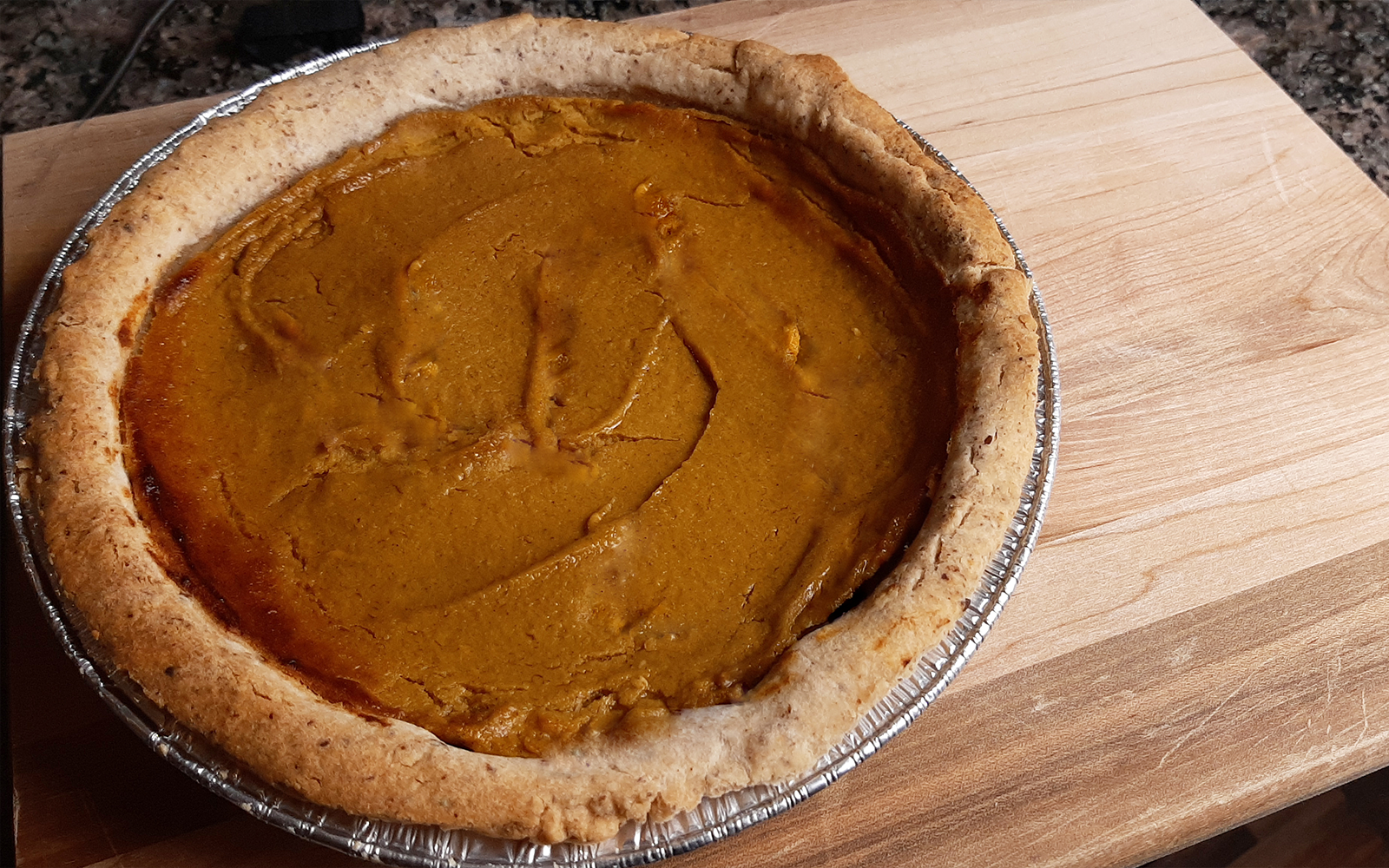 Gluten-free & Vegan Pumpkin Pie Recipe