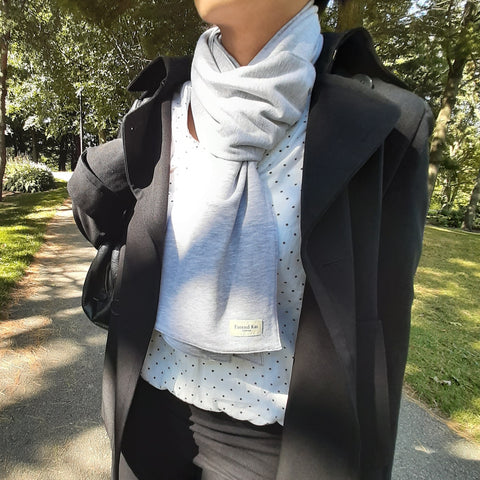 Heather Grey - Classic Anytime Cold Weather Scarf