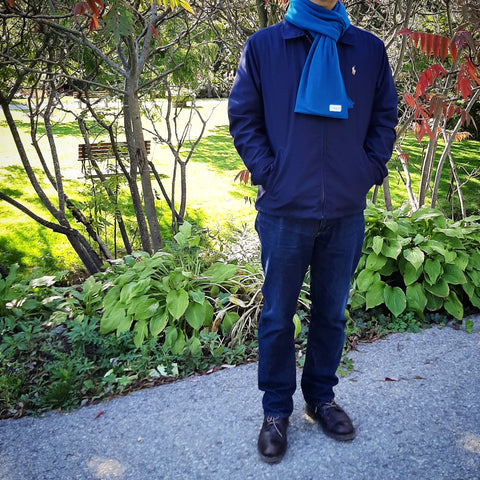 Peacock - Classic Anytime Cold Weather Scarf