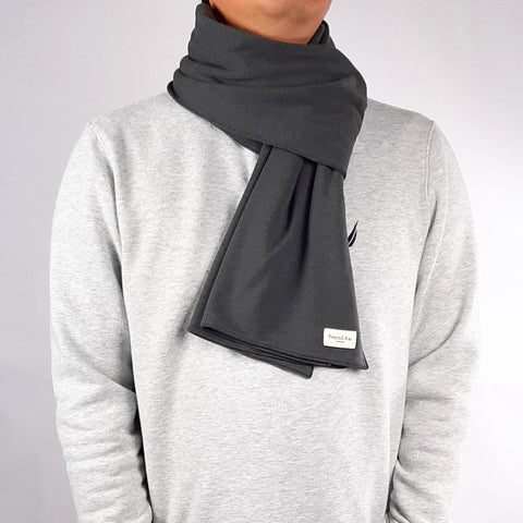 Classic Anytime Cold Weather Scarf in Dark Ash