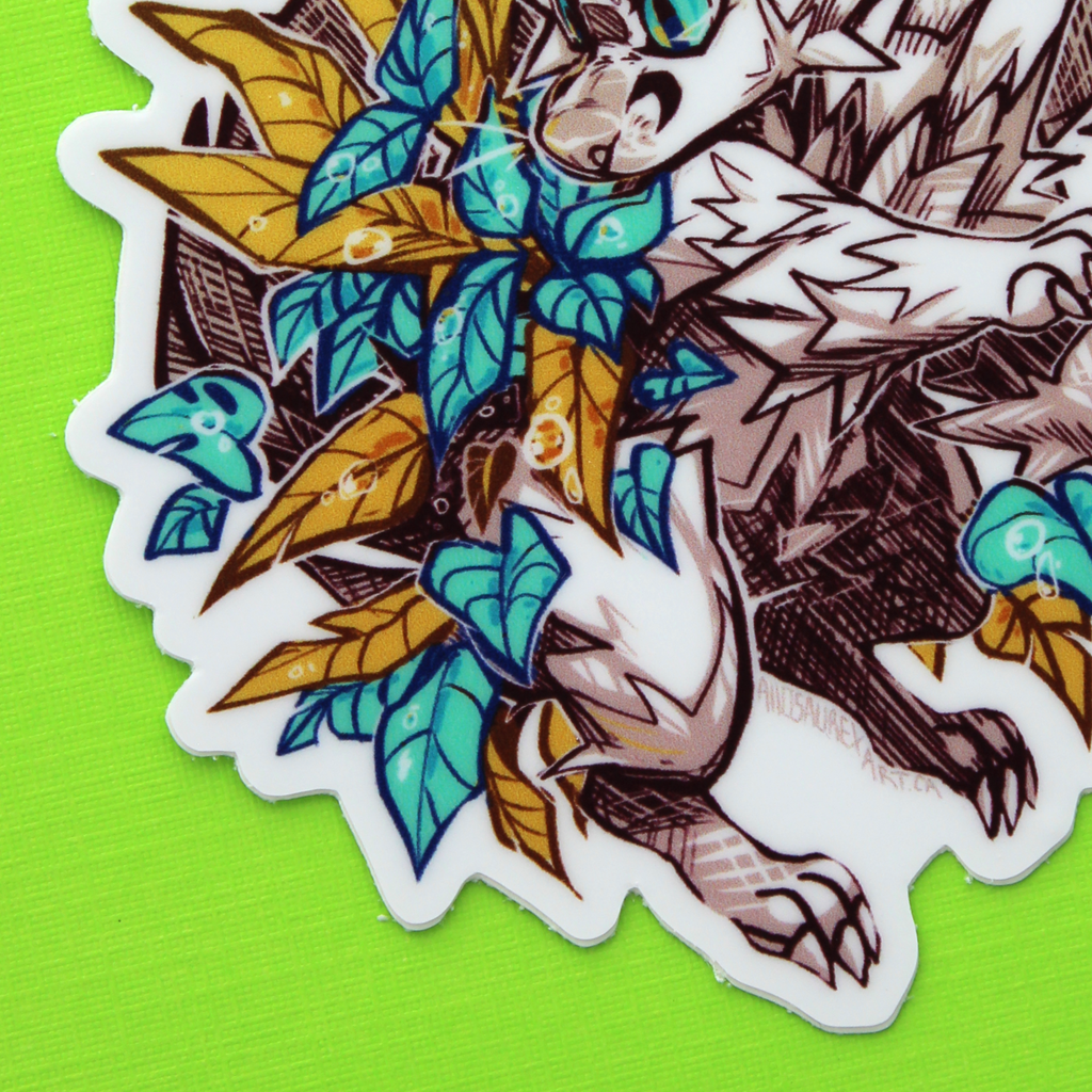 Forest Imp Sticker