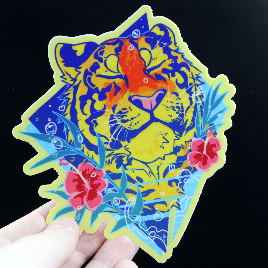 Tropical Nap Sticker