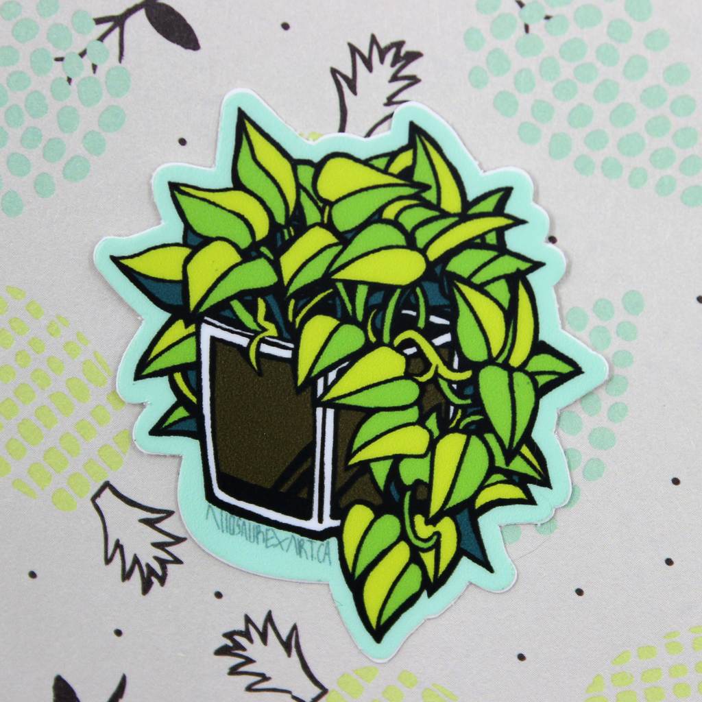 Pothos Plant Sticker
