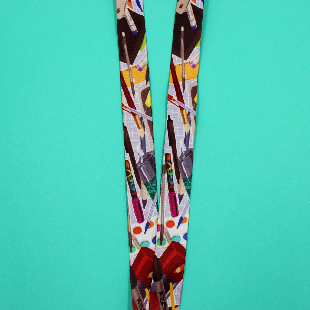 Arts N' Crafts Lanyard