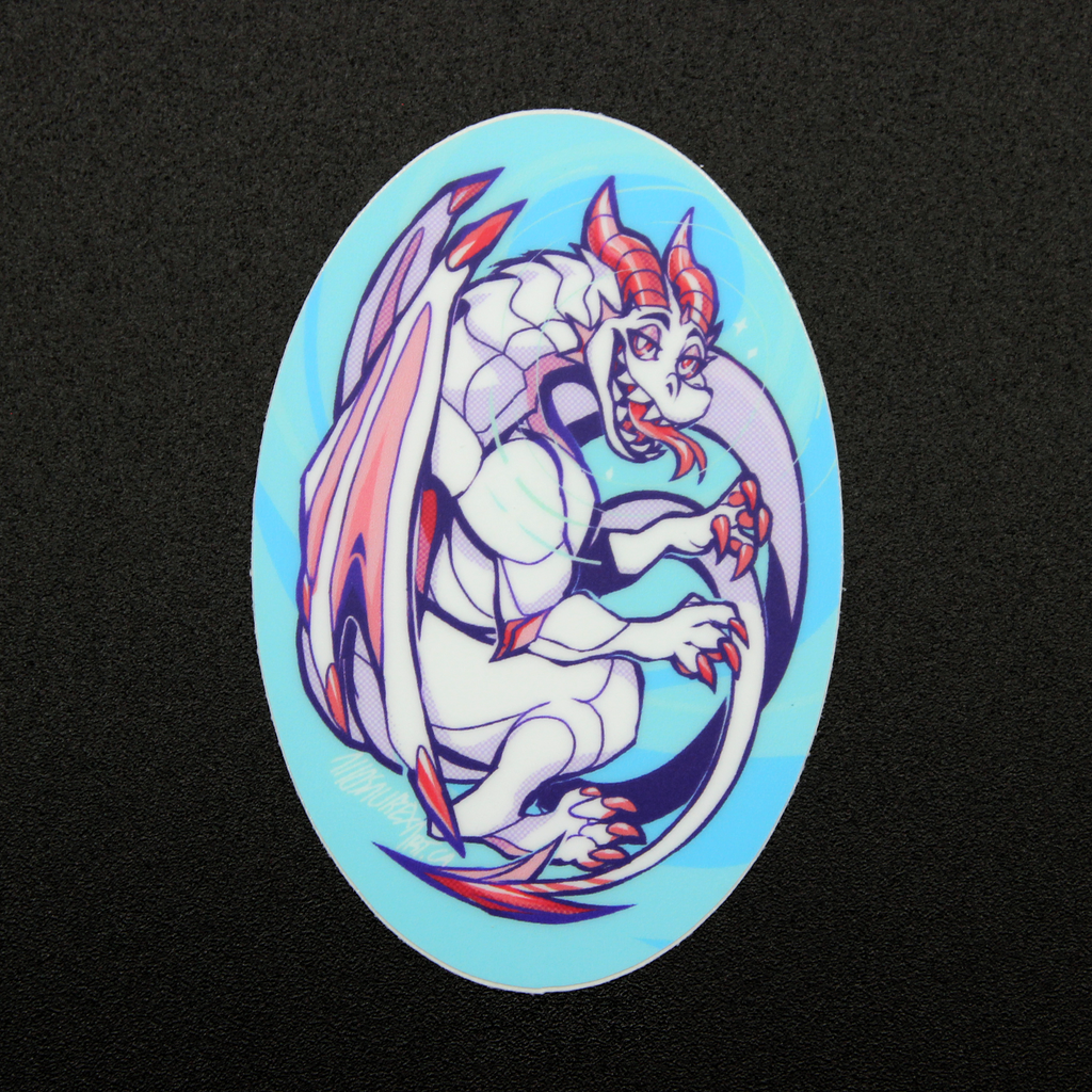 Dragon Egg Sticker