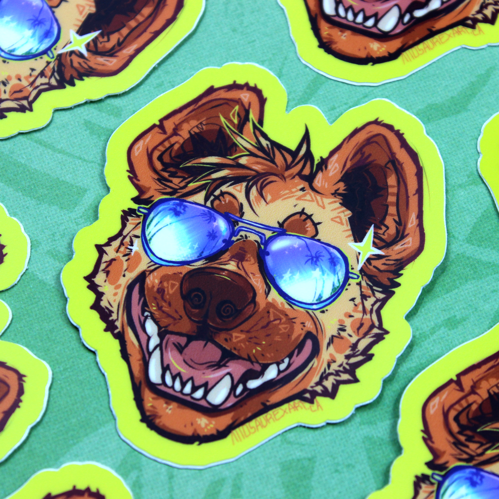 Rad Yeen Sticker