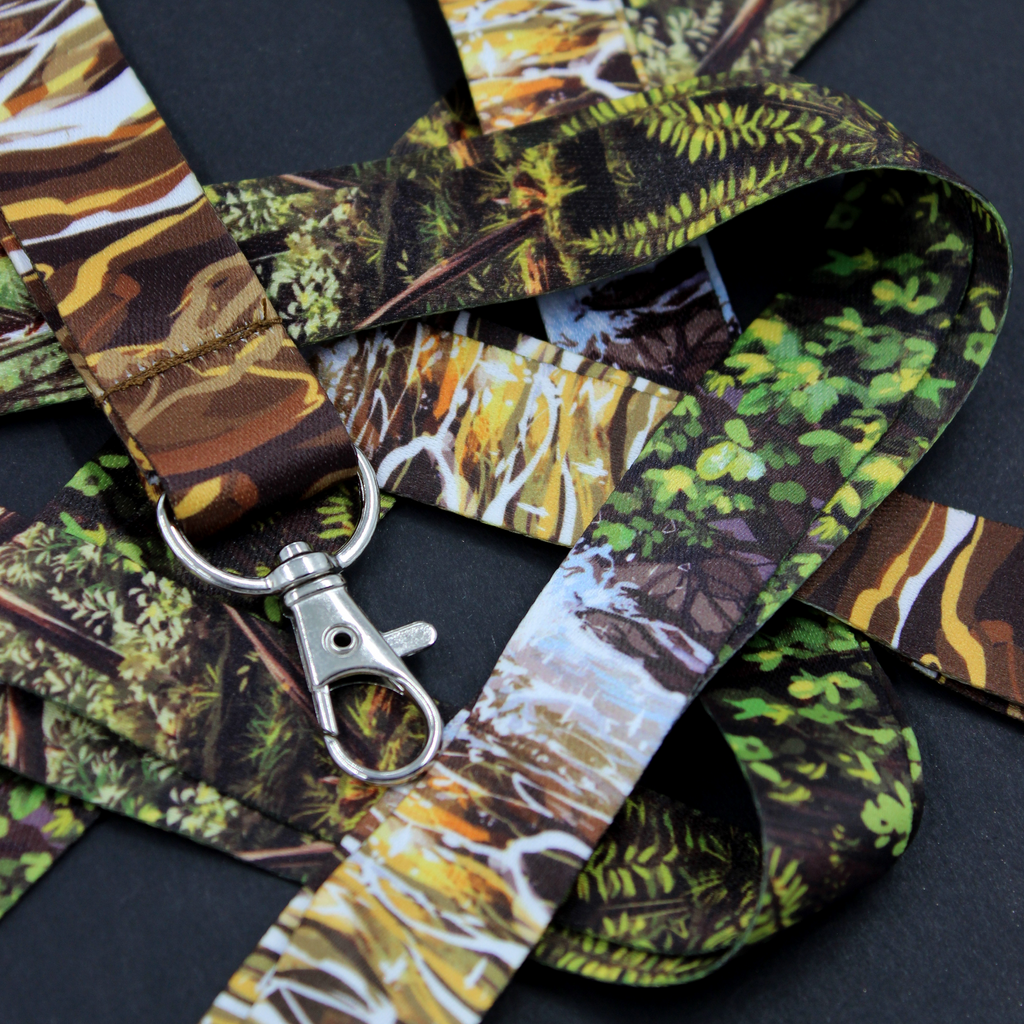 West Coast Forest Lanyard
