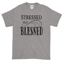 Load image into Gallery viewer, Stressed but Blessed Tee