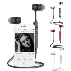 Sweat proof Bluetooth Earphones with Noise Reduction - Hi Fidel Audio