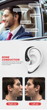 Load image into Gallery viewer, Ear Hook Bone Conduction Earphones with Attachable Earbud - Hi Fidel Audio