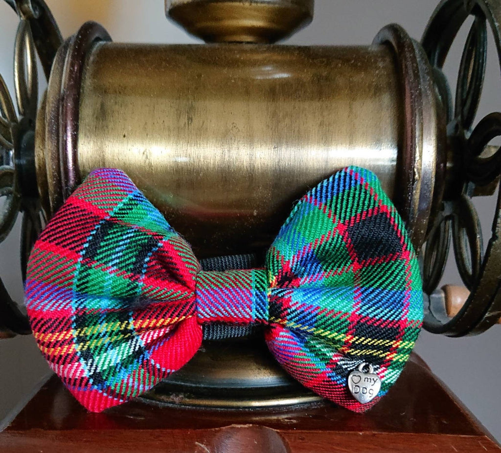 Anderson Of Ardbrake Tartan Dog Bow Tie - Luxury Highland Wool Pet Couture
