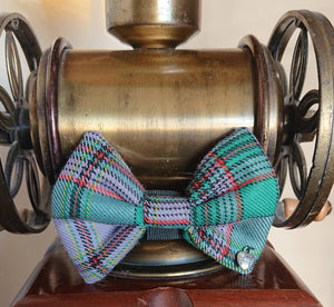 Craig Tartan Dog Bow Tie - Luxury Highland Wool Pet Couture
