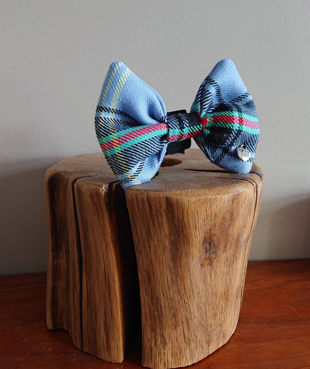 Bell Of Borders Tartan Dog Bow Tie - Luxury Highland Wool Pet Couture