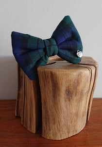 Black Watch Tartan Dog Bow Tie