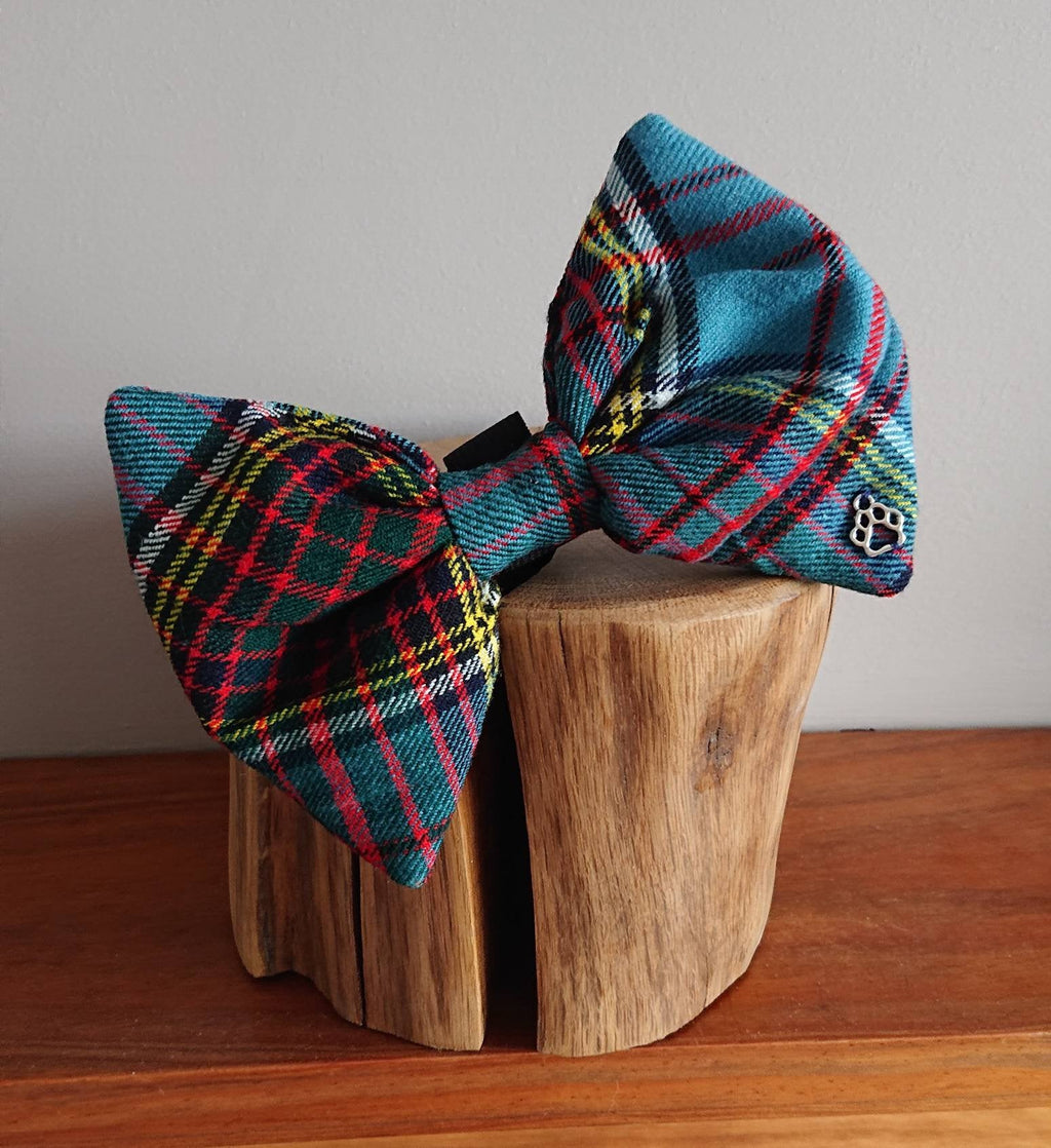 Anderson Ancient Luxury Highland XL Bigger Breeds Tartan Dog Bow Tie
