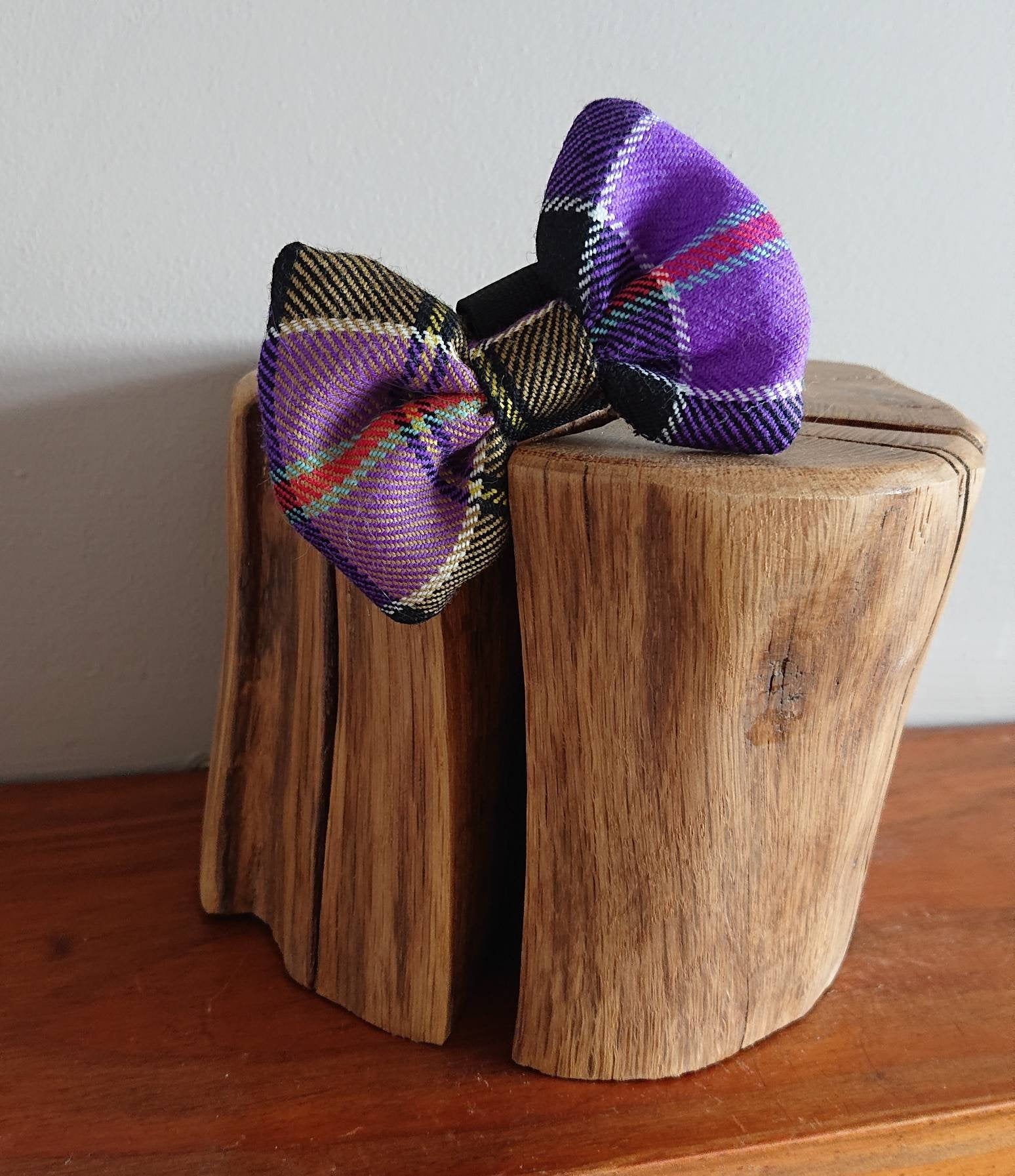 Culloden Tartan XS Small Dog / Cat Luxury Highland Bow Tie - Pet Couture