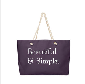 Everyday Everything Bag, Deep Purple