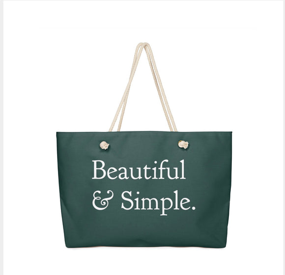 Everyday Everything Bag, Deep Jade
