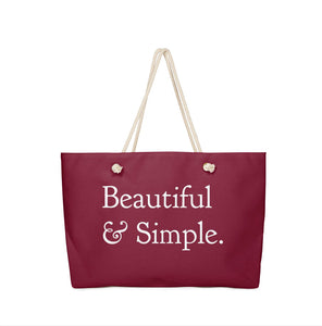 Everyday Everything Bag, Deep Berry