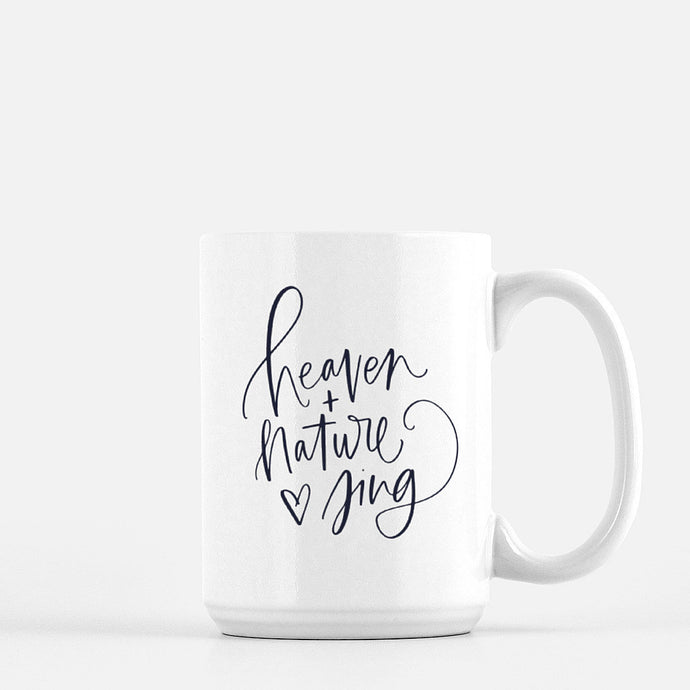 Heaven & Nature Sing 15oz. Mug