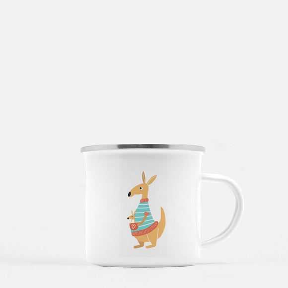 The Kangaroos. 10 oz Kid Mug