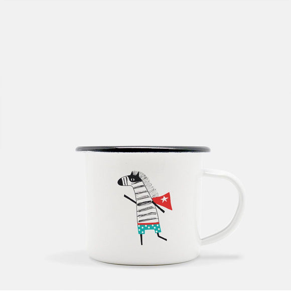 The Super Zebra. 10 oz Kid Mug