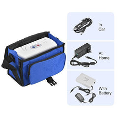 Portable Oxygen Concentrator TP-B1 with Battery & Carrying Bag-Health Care > Respiratory Care-OXYGENSOLVE