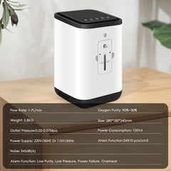 In Stock 1-7L/min Home Oxygen Concentrator KJR-11MW-OXYGENSOLVE