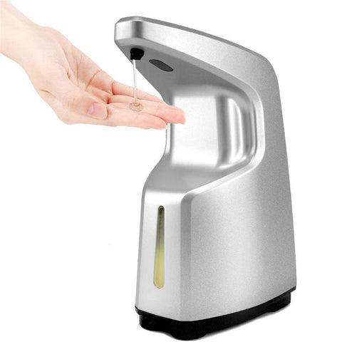 450ML Touchless Hand-Free Soap Dispenser with Infrared Motion Sensor-OXYGENSOLVE