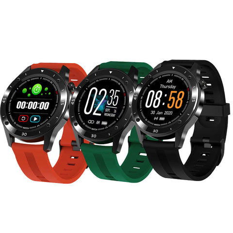 Smart Watch Blood Pressure Heart Rate Monitor Bracelet Wristband for iOS Android-OXYGENSOLVE