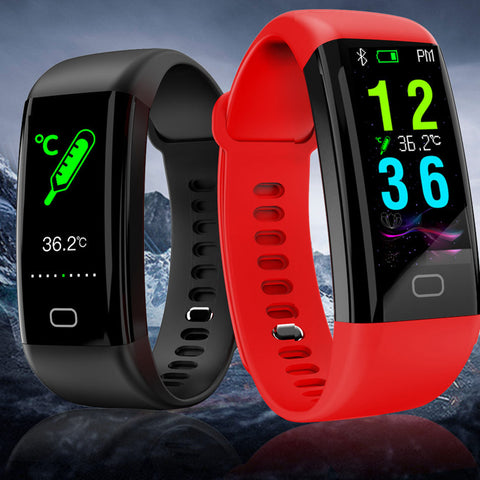 Smart Watch Bracelet Wristband Blood Pressure Heart Rate Monitor-OXYGENSOLVE