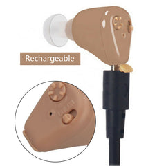 Rechargeable Mini Hearing Aid Sound Amplifier Invisible Hear Clear-OXYGENSOLVE