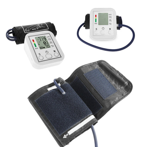 New Digital Blood Pressure Monitoring High Accuracy LCD Display Sphygmomanometer-OXYGENSOLVE