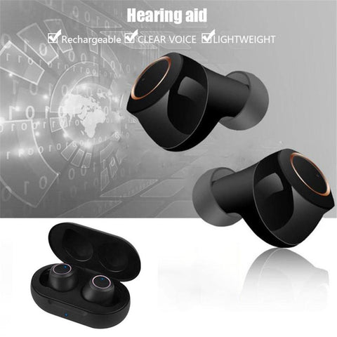Usb Rechargeable Mini In Ear Invisible Hearing Aids-OXYGENSOLVE