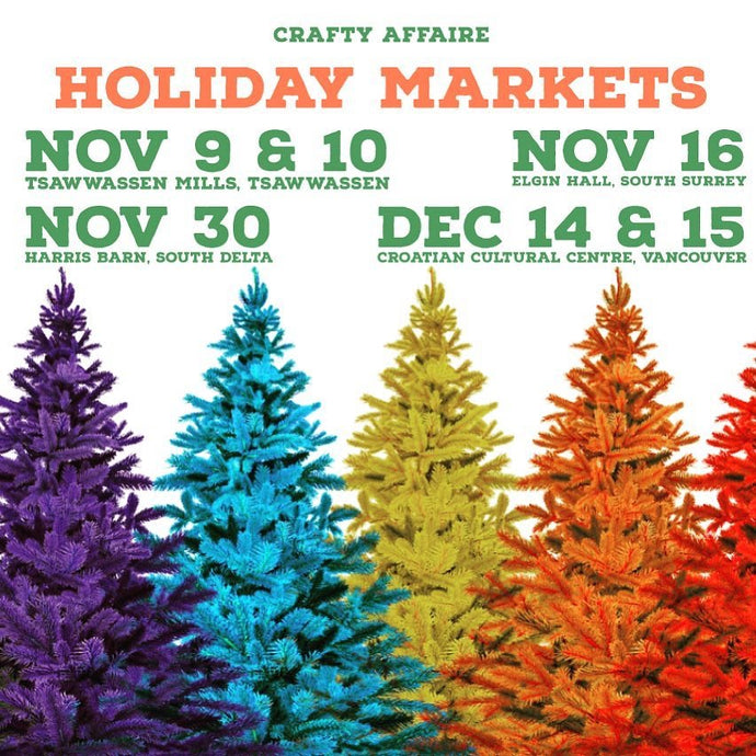 Upcoming Holiday Markets