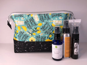 Toiletry/Project Bag -Gin & Tonic