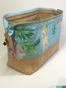 Wisteria - Toiletry/Project Bag