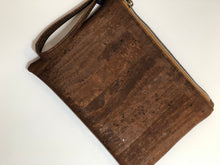 Load image into Gallery viewer, Tweed & Cork Wristlet