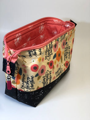 Toiletry/Project Bag -Ray of Sunshine