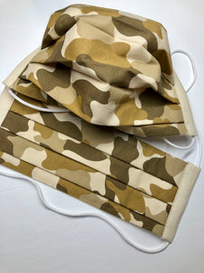 The Sweary Camo and Regular Camo Collection Reusable Face Mask - Adult Size