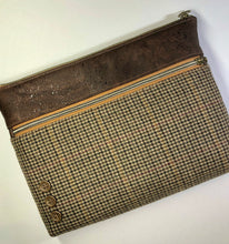 Load image into Gallery viewer, Tweed & Cork Large Tablet Case