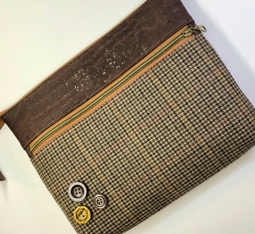 Tweed & Cork Large Tablet Case
