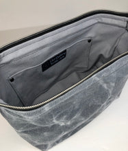 Load image into Gallery viewer, Waxed Canvas - Men's DOPP/Toiletry Bag