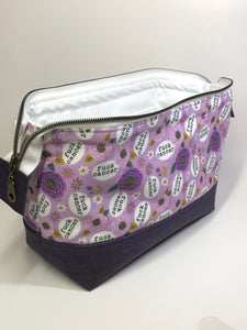 Fuck Cancer - Toiletry/Project Bag